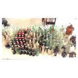 lrg group of drink bottles & misc old bottles