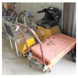 lift dolly, mart cart (needs battery & ?)