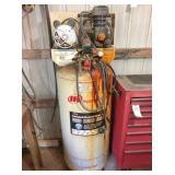 Ingersoll Rand 60 gallon tank, good motor, bad