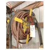 50ft air hose & reel
