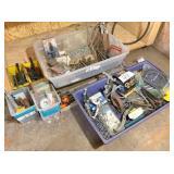Misc. shop supplies, bear trap & gear pullers