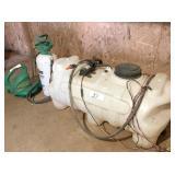 12V, 25 gal spray rig, pump sprayer & electric