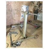 motor stand, motor stand puller