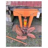 pipe bender, heavy duty 16 ton