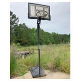 basketball goal and target
