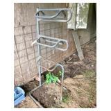 metal 3-tier saddle rack