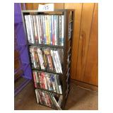 Swivel DVD holder & DVD movies