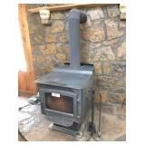 Ponderosa wood burning stove