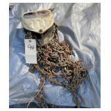 1-1/2 ton chain hoist