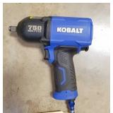 "Kobalt 1/2"" Air Impact 750 FT/LB of Torque"