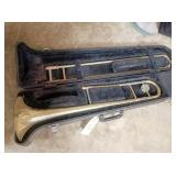 Yamaha Trombone in case