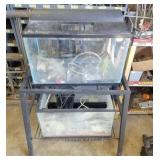 2-Fish Aquariums w/Stand & Accessories