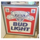 Bud Light lighted sign 4