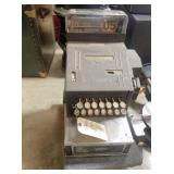 Antique 1937 cash register