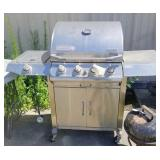Stainless BBQ Grill (needs new burners)