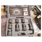 "Klutch 1"" socket set (missing one)"