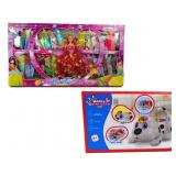 Fashion Doll Set and Electronic Funny Pup Toys