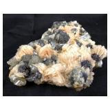 "6"" x 4"" Unusual Selentite and Quartz Formation"