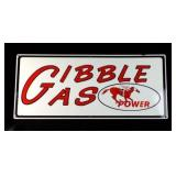 GIBBLE GAS Porcelain Sign #54/100