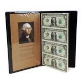 Uncut Sheet of Four 2003-A $1 Bills