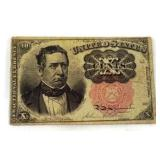 1849 Ten Cents Fractional Currency Note