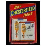 CHESTERFIELD Cigarettes Metal Sign