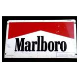 1995 MARLBORO Double-Sided Metal Sign