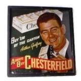 ALWAYS BUY CHESTERFIELD Arthur Godrey Sign