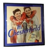 CHESTERFIELD Twins Framed Poster