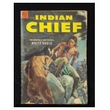 Oct-Dec 1953 INDIAN CHIEF Dell 10c Comic Book
