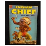 Apr-Jun 1954 INDIAN CHIEF Dell 10c Comic Book