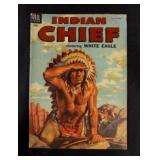 Jul-Sep 1954 INDIAN CHIEF Dell 10c Comic Book