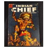 Sep-Nov 1954 INDIAN CHIEF Dell 10c Comic Book