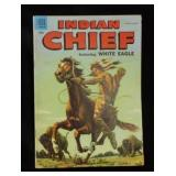 Jan-Mar 1955 INDIAN CHIEF Dell 10c Comic Book