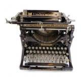 Antique Underwood No. 5 Typewriter