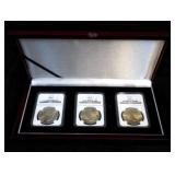 SCHROEDER  MS-63 Peace Dollar Coin Set