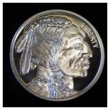 1 oz. Indian Head .999 Fine Silver Round - BU