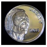 2013 Liberty Indian Head 1 oz. Silver Round