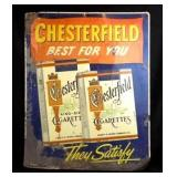 "Chesterfield ""Best For You"" Metal Sign"