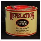 Revelation and >>>>>> Tobacco Tins