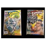 Superman Man Of Steel # 18-19