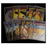 "Superman ""Funeral For a Friend"" Comics"