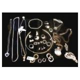 7.42 Ounces of Assorted Sterling Jewelry