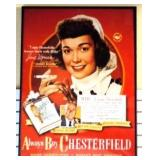 "1948 ""Always by CHESTERFIELD"" Jane Wyman Poster"