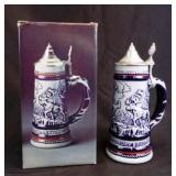 1976 Avon Everest Collectors Lidded Stein w/Box