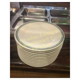 Dozen MELAMINE Plates for Buffet Plastic