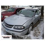 2003 Chevrolet Impala, no keys, 3400 engine, unkno
