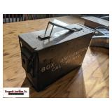 Ammo can. Item is located near Benson, MN. For exa