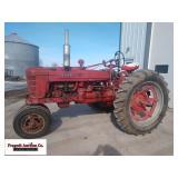 Farmall Super H, 2wd, Power Steering, Live Hydraul