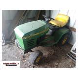 John Deere STX46 Lawn Mower, no deck, hydro drive,